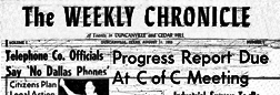 Duncanville Weekly Chronicle newspaper archives