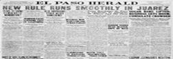 El Paso Herald newspaper archives