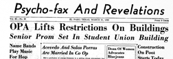Psycho Fax And Revelations newspaper archives
