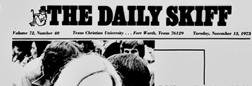 Fort Worth Daily Skiff newspaper archives