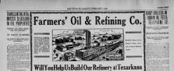 Texas Oil Gazette newspaper archives