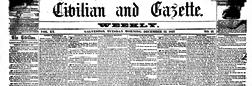 Civilian And Gazette newspaper archives