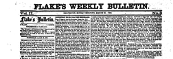 Galveston Flakes Daily Bulletin newspaper archives