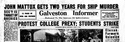 Galveston Informer newspaper archives
