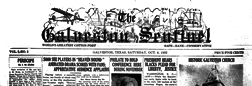 Galveston Sentinel newspaper archives