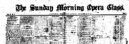 Galveston Sunday Morning Opera Glass newspaper archives