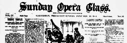 Galveston Sunday Opera Glass newspaper archives