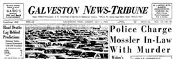 News Tribune Galveston Texas newspaper archives