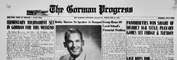 Gorman Progress newspaper archives