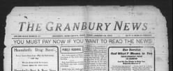Granbury News newspaper archives