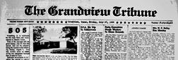 Grandview Tribune newspaper archives