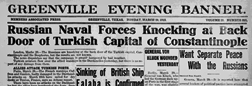Greenville Evening Banner newspaper archives