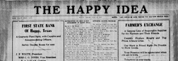 Happy Idea newspaper archives
