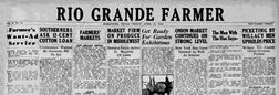 Harlingen Rio Grande Farmer newspaper archives