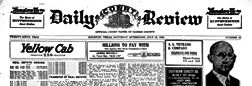 Daily Court Review newspaper archives