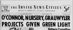Irving News Citizen newspaper archives