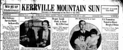 Kerrville Mountain Sun newspaper archives