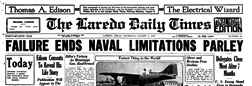 Laredo Daily Times newspaper archives