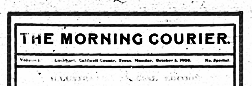 Lockhart Morning Courier newspaper archives