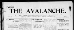 Avalanche newspaper archives