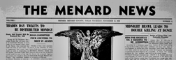 Menard News newspaper archives