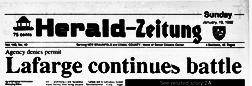 New Braunfels Sunday Herald Zeiyung newspaper archives