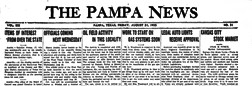 Pampa News newspaper archives
