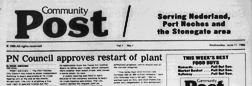 Port Arthur Community Post newspaper archives