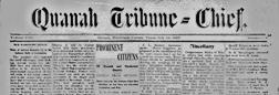 Quanah Tribune Chief newspaper archives