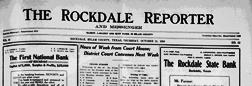 Rockdale Reporter And Messenger newspaper archives