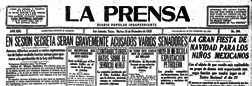 La Prensa newspaper archives