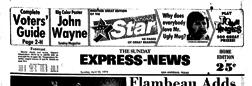 San Antonio Express News newspaper archives