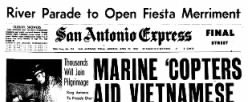 San Antonio Express newspaper archives