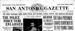 San Antonio Gazette newspaper archives