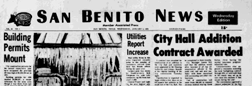 San Benito News newspaper archives