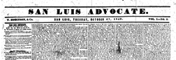 San Luis Advocate newspaper archives