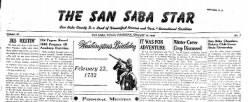 San Saba Star newspaper archives