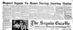 Seguin Gazette Enterprise newspaper archives