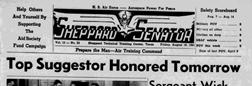 Sheppard Field Senator newspaper archives