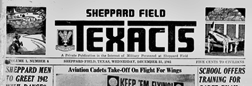 Sheppard Field Texacts newspaper archives