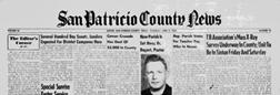Sinton San Patricio County News newspaper archives