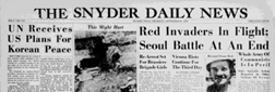 Snyder Daily News newspaper archives