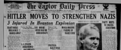 Taylor Daily Press newspaper archives