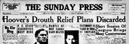 Taylor Sunday Press newspaper archives