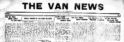 Van News newspaper archives