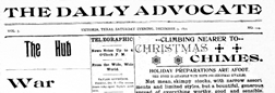 Daily Advocate newspaper archives