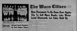 Waco Citizen newspaper archives