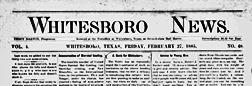 Whitesboro News newspaper archives
