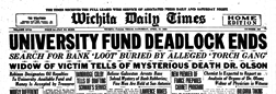 Times Record News newspaper archives