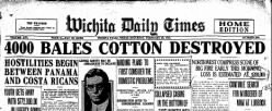 Wichita Daily Times newspaper archives